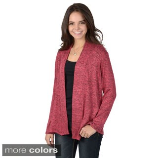 Hailey Jeans Co. Juniors Long Sleeve Open-front Cardigan