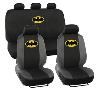 BDK Batman Car Seat Covers with Five Headrest Covers