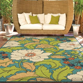 "Promise Collection Tace Multi Olefin Indoor/Outdoor Area Rug (5'2"" x 7'6"")"