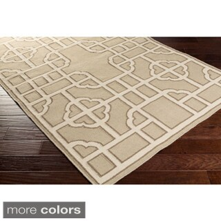 Beth Lacefield Hand-woven Vicky Reversible Wool Rug (2' x 3')