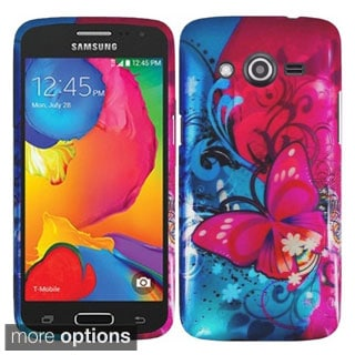 INSTEN Rubberized Hard Snap-in Case Cover for Samsung Galaxy Avant