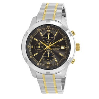 Seiko Men's SKS425 Stainless Steel Chronograph Watch