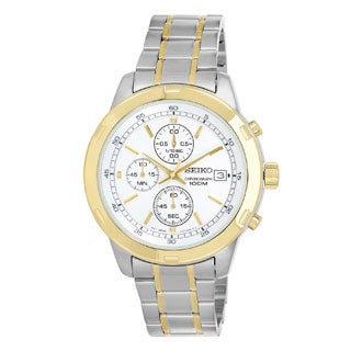 Seiko Men's SKS432 Stainless Steel Chronograph Watch