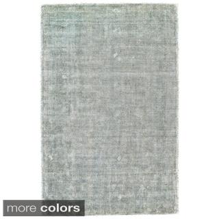 """Grand Bazaar Hand Woven Viscose & Cotton Lassiter Rug in Ice 3'-6"""" x 5'-6"""""""