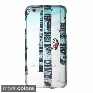 INSTEN Design Pattern Rubberized Hard PC Plastic Snap-on Phone Case Cover For Apple iPhone 6 Plus/ 6+ 5.5-inch