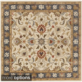 Hand-tufted Nia Traditional Wool Rug (6' Square)