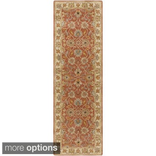 Hand-tufted Nia Traditional Wool Rug (3' x 12')