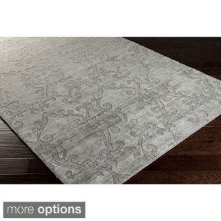 Hand-Loomed Ellen Wool Rug (2' x 3')