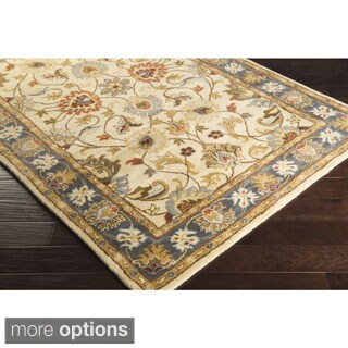 Hand-tufted Nia Traditional Wool Rug (7'6 x 9'6)