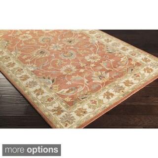 Hand-tufted Nia Traditional Wool Rug (8' x 11')