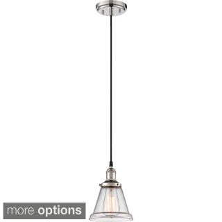 "Nuvo Vintage 1-Light 6"" Caged Pendant"