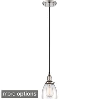 "Nuvo Vintage 1-Light 5"" Caged Pendant"