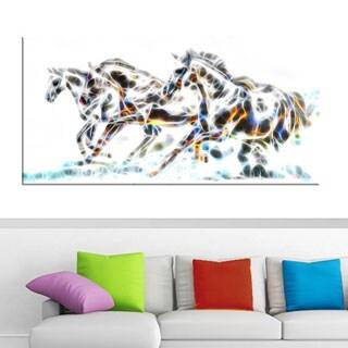 Wild Horses Animal Art Canvas (Multiple Sizes)