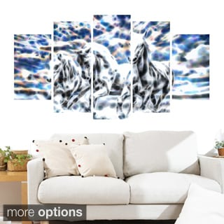 Galloping Horses Animal Art Canvas (Multiple Sizes)