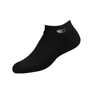 Champion Double Dry High Performance Men's Full Cushion Extra Low-Cut Socks Extended Sizes 3-Pack