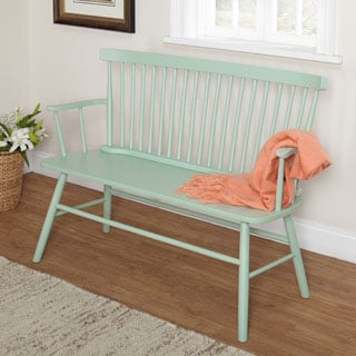 Simple Living Mint Shelby Bench