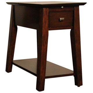 Christopher Knight Home Power Table with Cherry Finish
