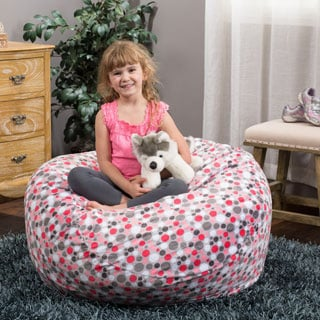 Christopher Knight Home Riley 3-foot Bubbledot Pattern Beanbag