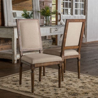 Christopher Knight Home Madison Weathered Oak Dining Chair (Set of 2)