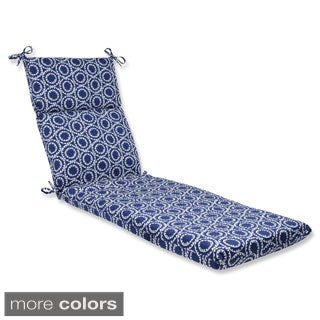 Pillow Perfect Outdoor Ring a Bell Chaise Lounge Cushion
