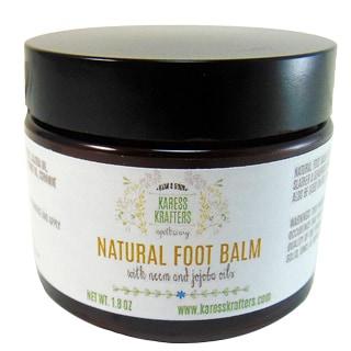 Moisturizing Natural Tea Tree Foot Balm with Neem and Jojoba