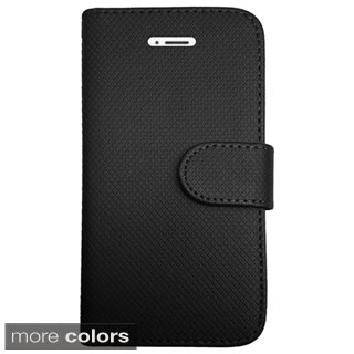 Insten Folio Flip Leather Phone Case Cover For Apple iPhone 6 Plus