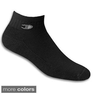 Champion Double Dry High Performance Men's Full Cushion Quarter Socks (Pack of 3)