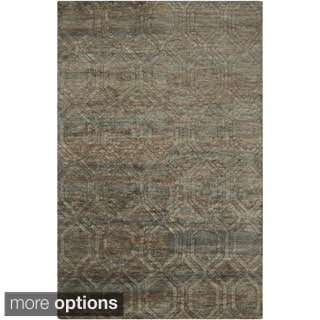 Hand-Knotted Sherri Abstract Pattern Jute Rug (3'3 x 5'3)