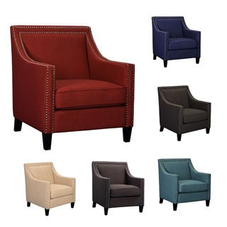 Emley Modern Nail Head Trimmed Chair