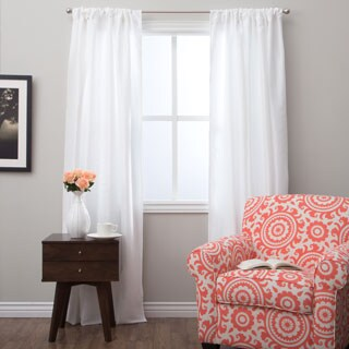 Classic 96-inch Curtain Panel with Lining