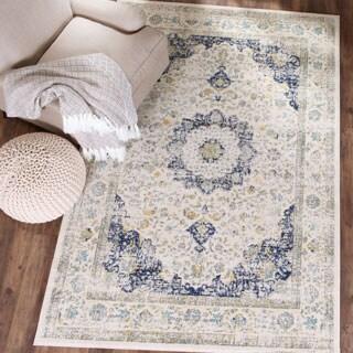 Safavieh Evoke Ivory/ Blue Vintage Area Rug (8' x 10')