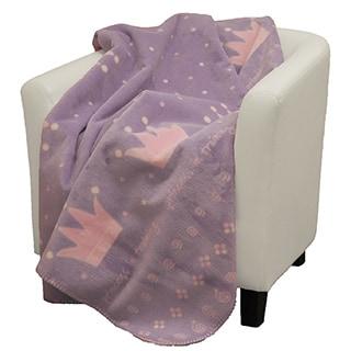 Denali Princess in Training purple soft pink Micro-plush Throw Blanket
