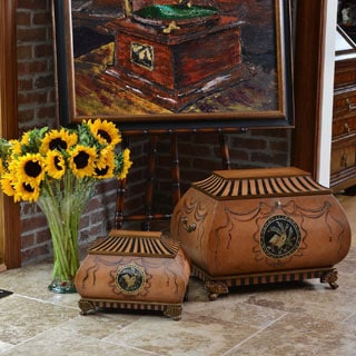Life Chest Salzburg Hand-painted Hope Chest