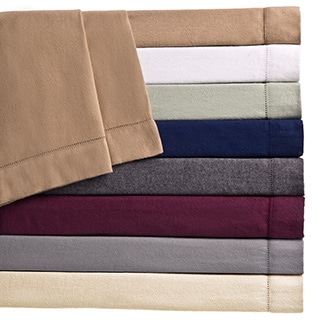 Ultra-soft / Heavyweight 6-ounce German Flannel Hemstitch Sheets