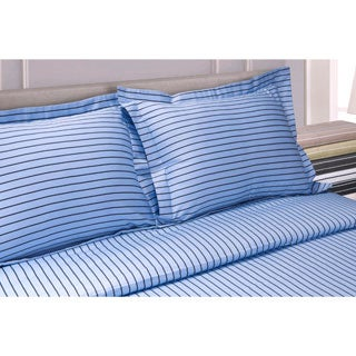 Damask Stripe Collection 400 Thread Count King Size Duvet
