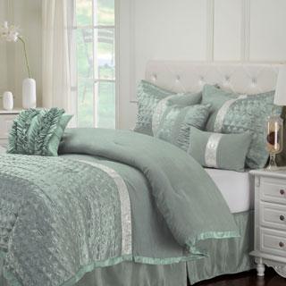 Luxor Treasures Wrinkle Resistant 7-piece Dannica Comforter Set