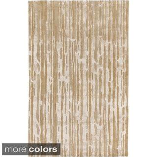 Candice Olson :Hand-Tufted Walter Abstract Indoor Rug (8' x 11')