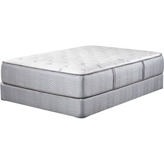 Art Van Puresleep Whisper Valley Queen-size Split Euro Top Mattress Set