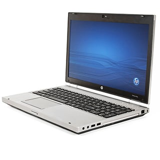 HP Elitebook 8560P Core I7-Quad 2.2Ghz 2nd Gen 2720Qm 8GB 750GB DVDRW 15.6-inch Display W7P64 Cam (Refurbished)