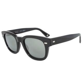 Gucci Men's 1079/S Plastic Oval Sunglasses