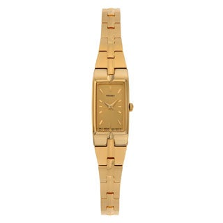 Seiko SZZC44 Women's Classic Gold Tone Brass Jewelry Watch