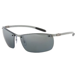 Ray-Ban RB 8306 083/82 Silver Carbon Tech Polarized Sunglasses