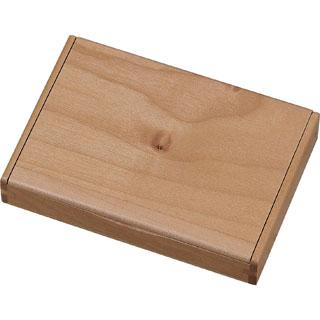 Visol Limber Natural Maple Wood Desktop Business Card Case