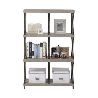 Homestar 4-shelf/ 6-compartment Bookcase