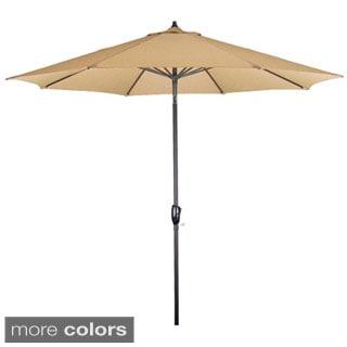 Somette 9-Foot Aluminum Frame Market Umbrella