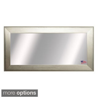 American Made Rayne Extra Large Brushed Silver Mirror
