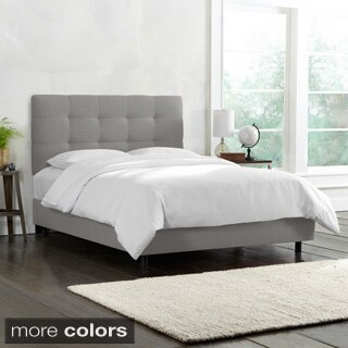 Skyline Furniture Queen Pull Tuft Bed