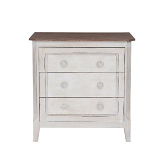 Decorative Gervais Casual White Square Accent Table