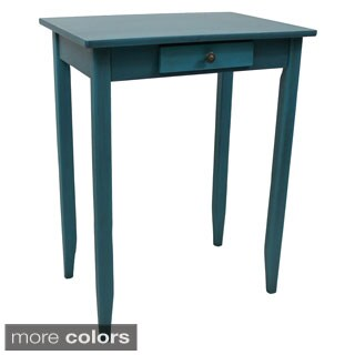 International Caravan Ashbury Shabby Chic 1-drawer Side Table