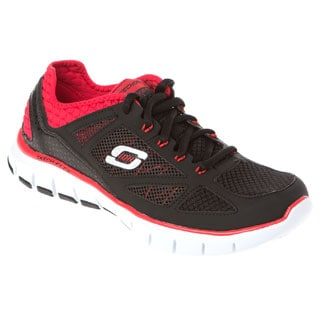 Skechers USA 51444 Relaxed Fit Gel-infused Memory Foam Footbed Neoprene Collar Sneakers